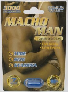 Macho Man 3000 Pills Review – Side Effects + FDA Warnings