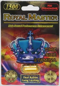 Royal Master 1500 Male Enhancement Pills Review (FDA WARNINGS)